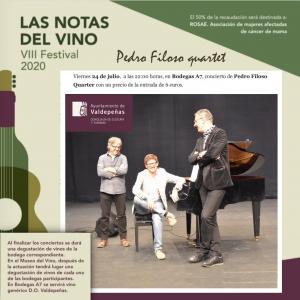 Pedro Filoso en concierto